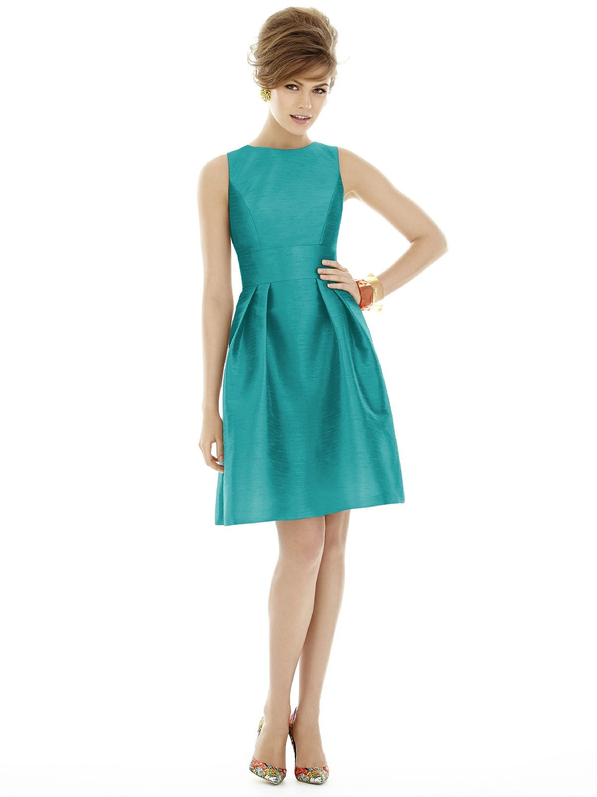 Alfred sung style d679 alfred sung alfred sung bridesmaid alfred sung quick delivery bridesmaid dress in turquoise ombrellifo Gallery