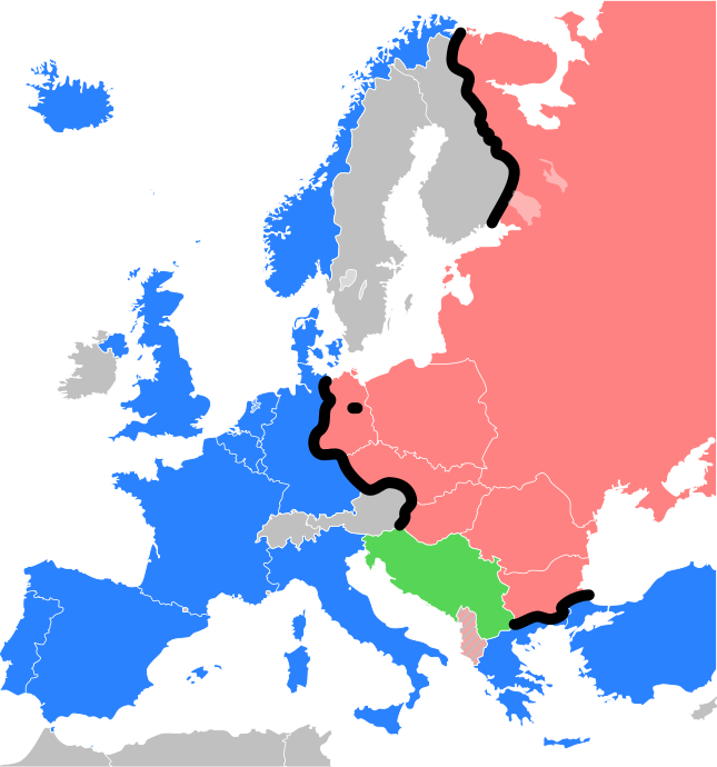 38 maps that explain europe cold war history and soviet union 38 maps that explain europe gumiabroncs Choice Image
