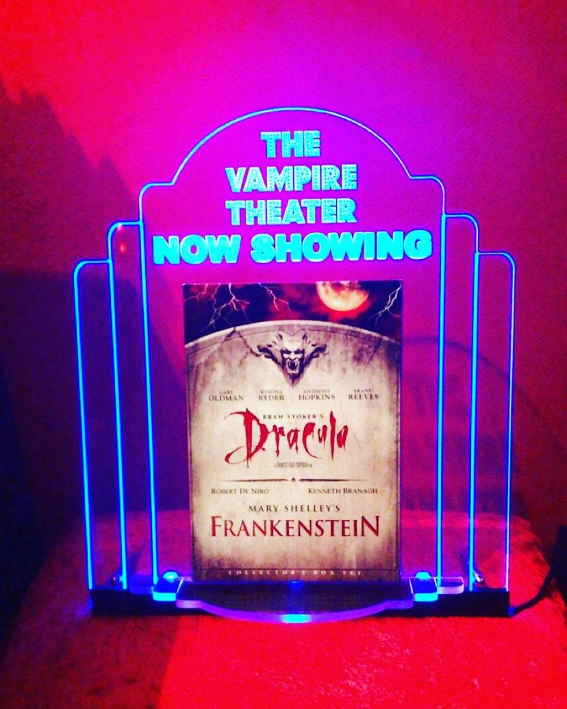 Personalized Signs For Your Home Theater Dvd Holder Media Room Decor