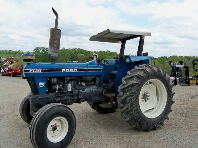 1995 Ford 7610 S Ford Tractors Old Tractors Tractors
