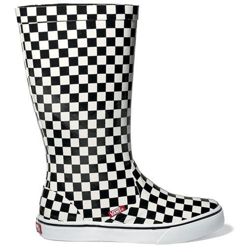 Vans Rainfall Wellies!   Vans boots