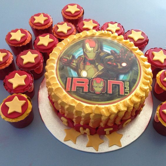 25 Iron Man Cakes Your Little Superhero Will Love Noah