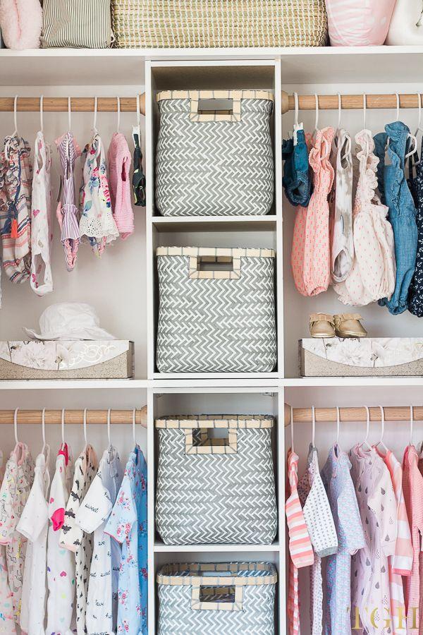 Build This Custom Nursery Closet for $100