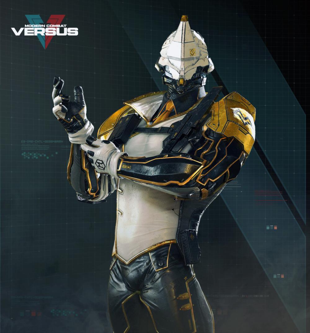 Artstation Monark Modern Combat Versus Gameloft Mtl Rodrigue Pralier Combat Art Concept Art Characters Cyberpunk Character