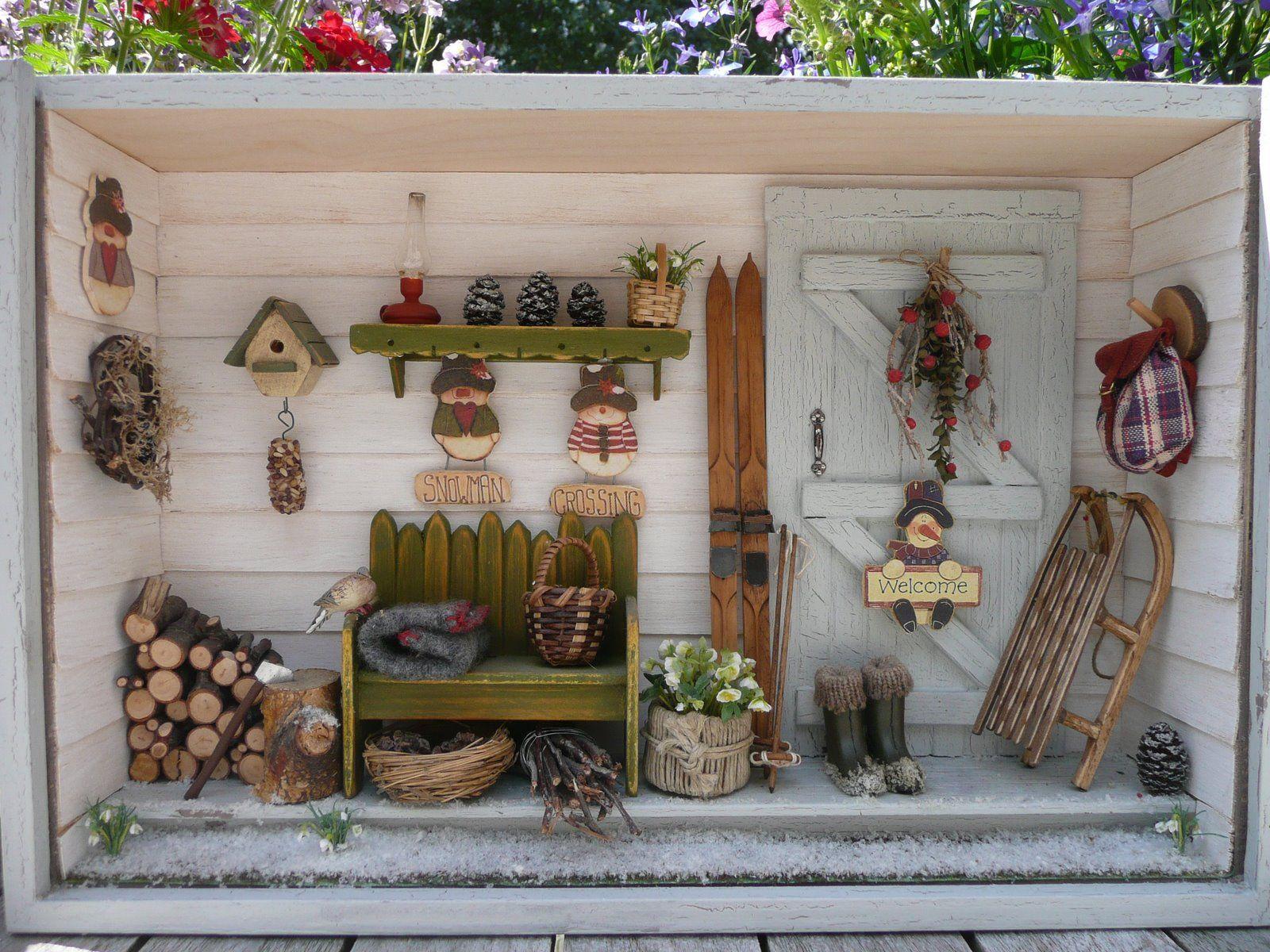 les carnets de l 39 atelier blondie la cabane de jardin des 4 saisons the four season garden. Black Bedroom Furniture Sets. Home Design Ideas