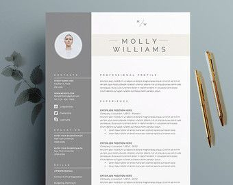 Resume Template And Cover Letter Template For Par