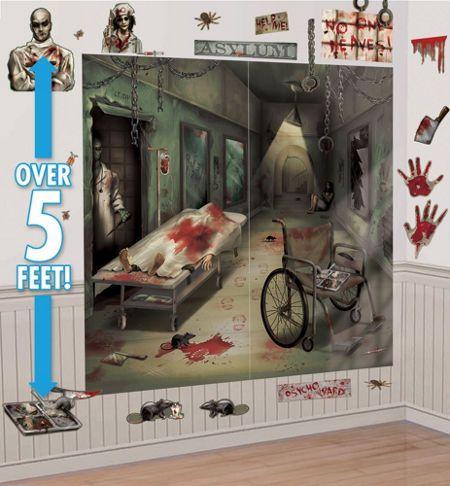 Asylum Halloween Decorations - Decorations, Tableware, Props ...