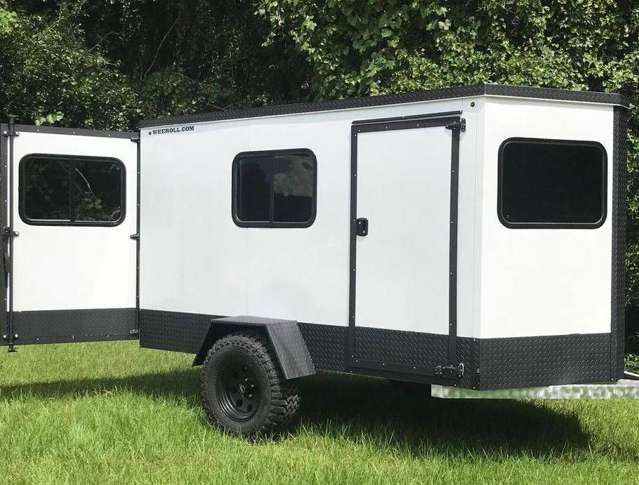 Wee Roll Mini Campers Small Travel Trailers Affordable