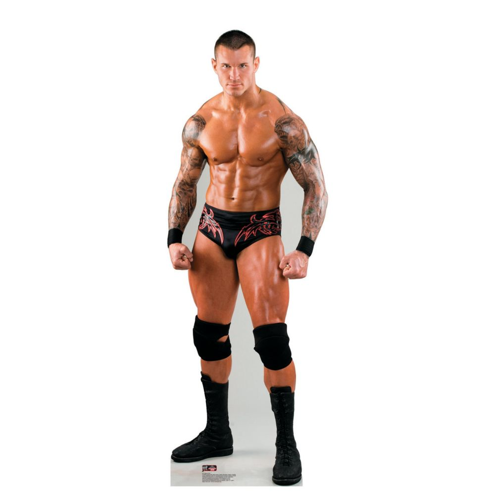Randy Orton Ready to Wrestle - WWE Cardboard Stand-Up | Wrestling ...