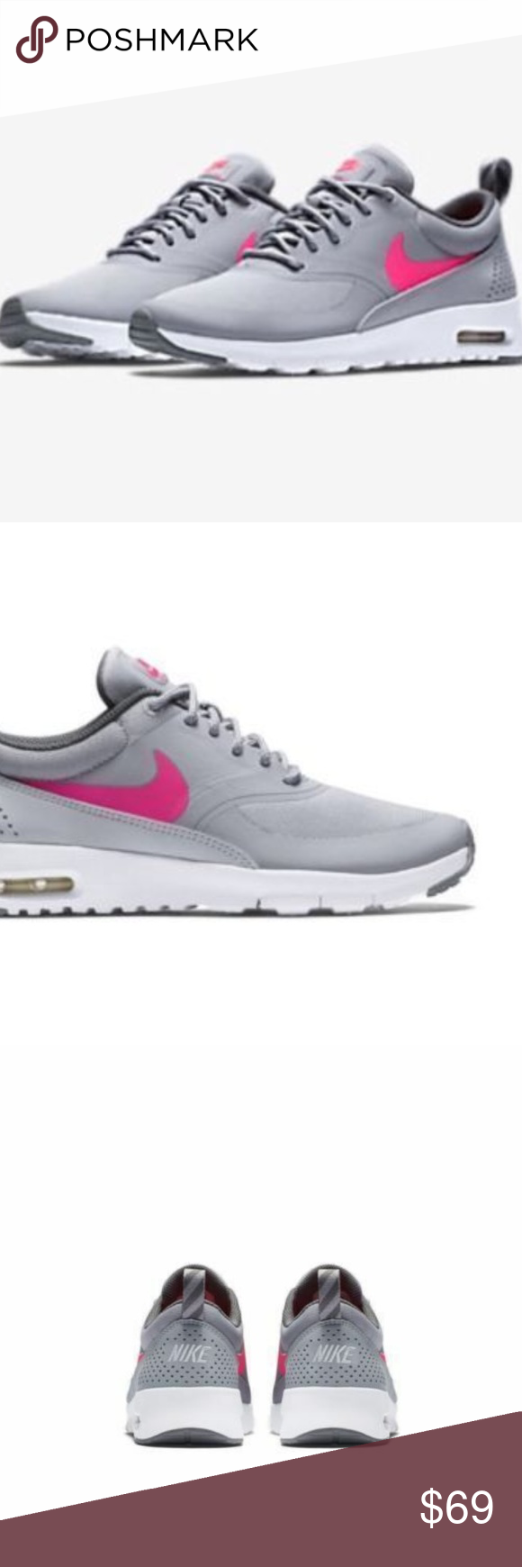 NIKE AIR MAX THEA SIZE 7 YOUTH WOMEN'S SIZE 8.5 Sellers