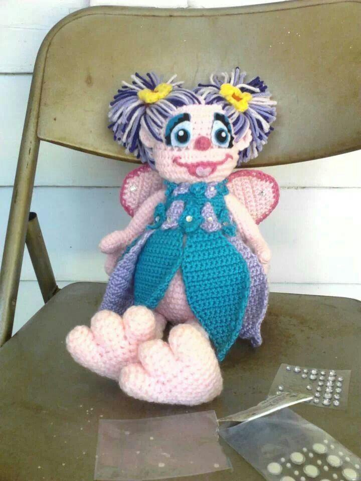crochet abby cadabby doll. I made this! #crochet #