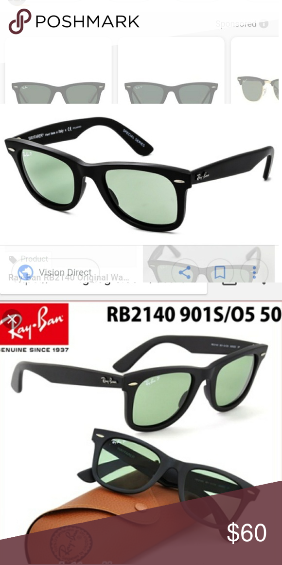164508382 RayBan Original Wayfarer Special Series Polarized Authentic Ray Ban  Original Wayfarer Sunglasses RB2140 901-S