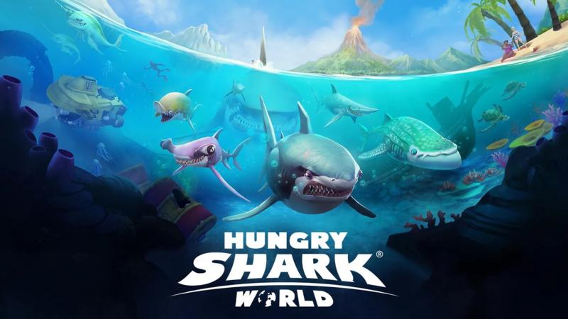Hungry Shark World v1.7.2 [Mod] Apk Mod Data http//www
