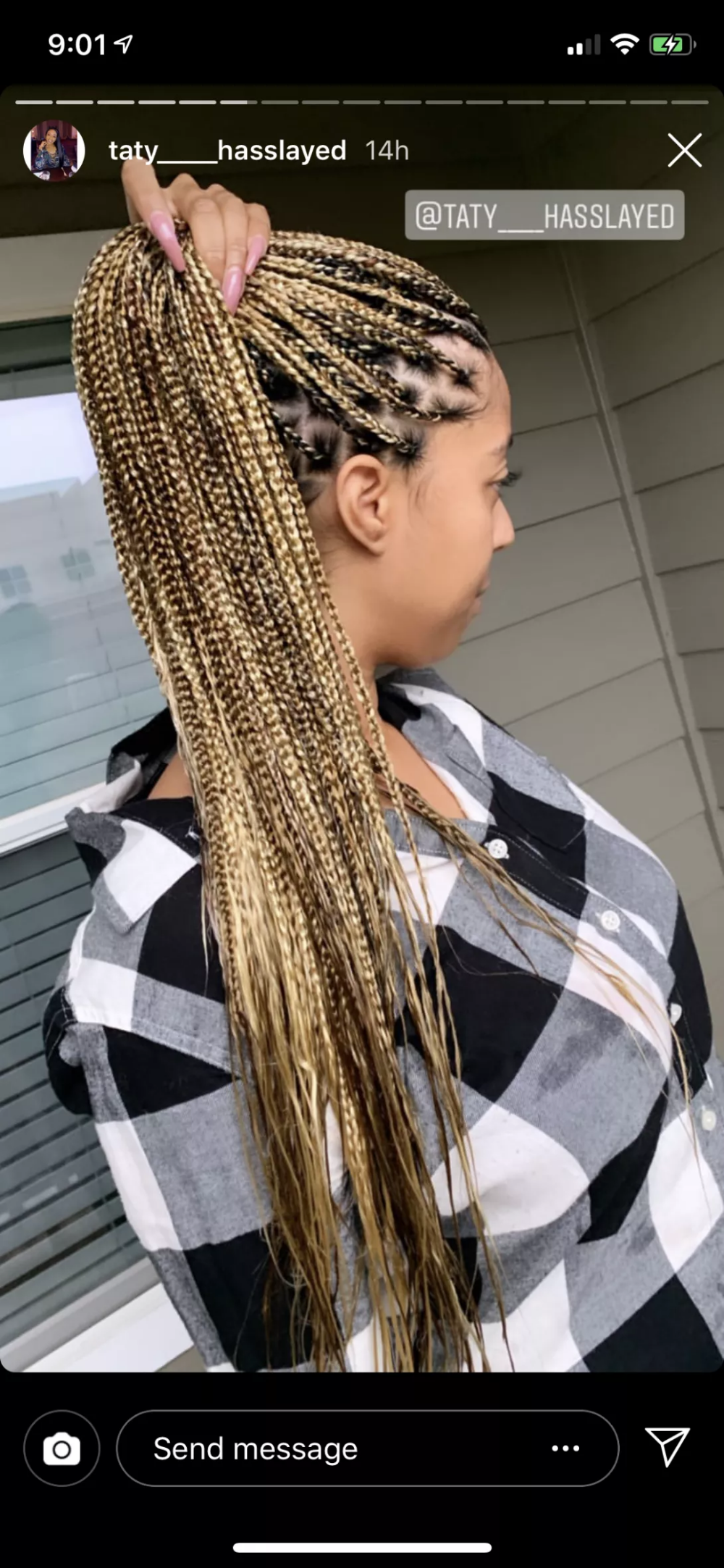 New Knotless Braids Worth The Hype Hair Styles Blonde Braids Braided Hairstyles You don't need to go deep into the instagram feed to see how the brand new knotless braids outshine popular natural hairstyles. new knotless braids worth the hype