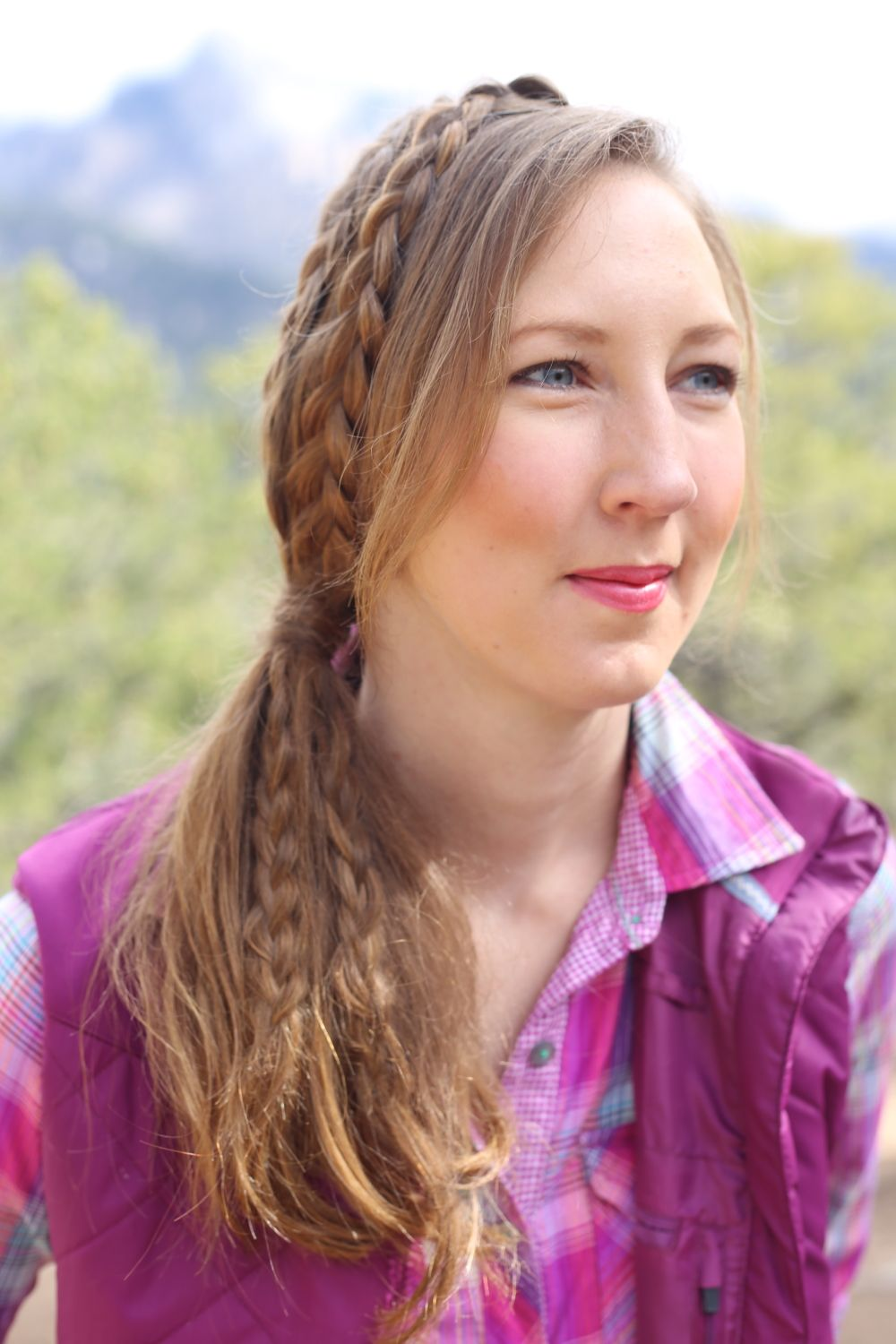 Hairstyle ideas with braids loose wavesand ponytails to be the
