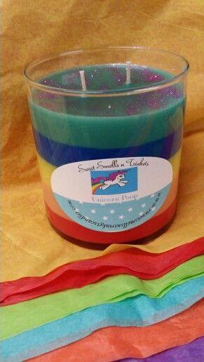 Unicorn Poop candle- Sweet Smells n trinkets | Sweet Smells n