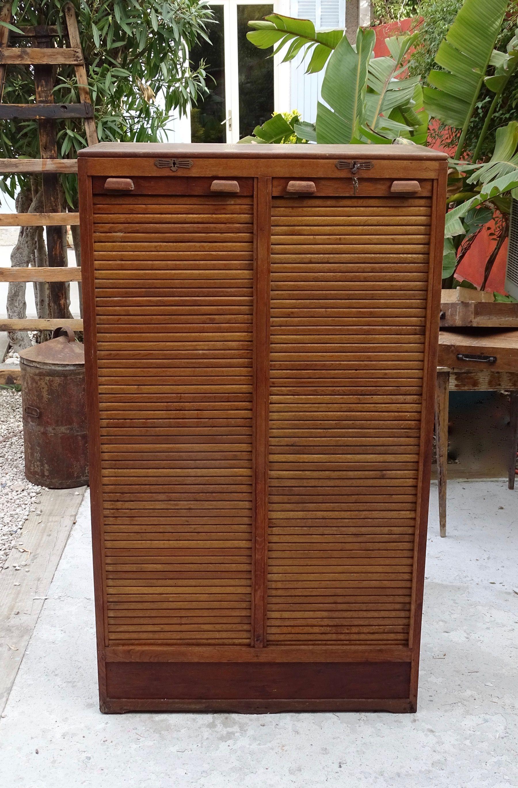 classeur a rideaux double mobilier www