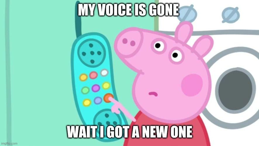 Peppa Pig Phone In 2020 Peppa Pig Memes Peppa Pig Funny Pig Memes