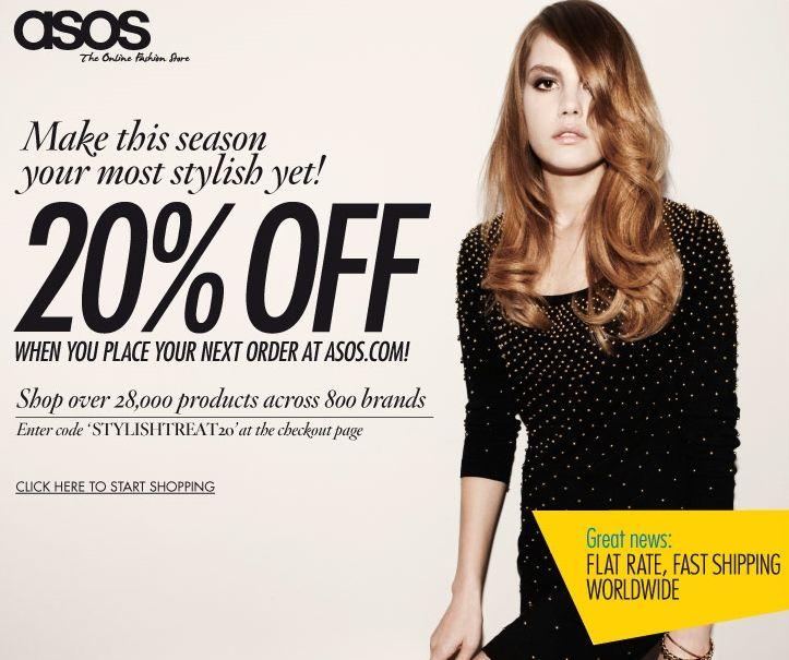 asos-discount-voucher Sales   Discounts Banners \ NL Pinterest - discount voucher design