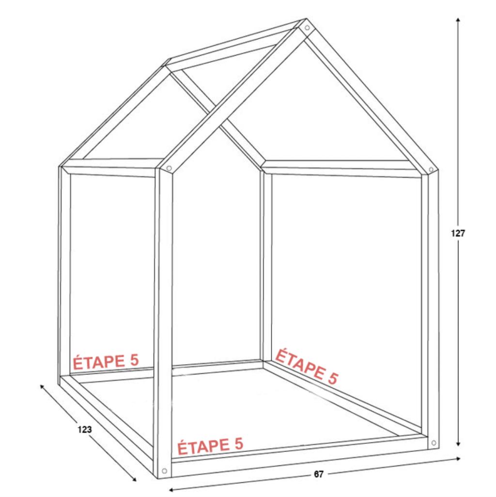 Fabriquer Lit Cabane Montessori fabriquer son lit cabane montessori - les écoles montessori