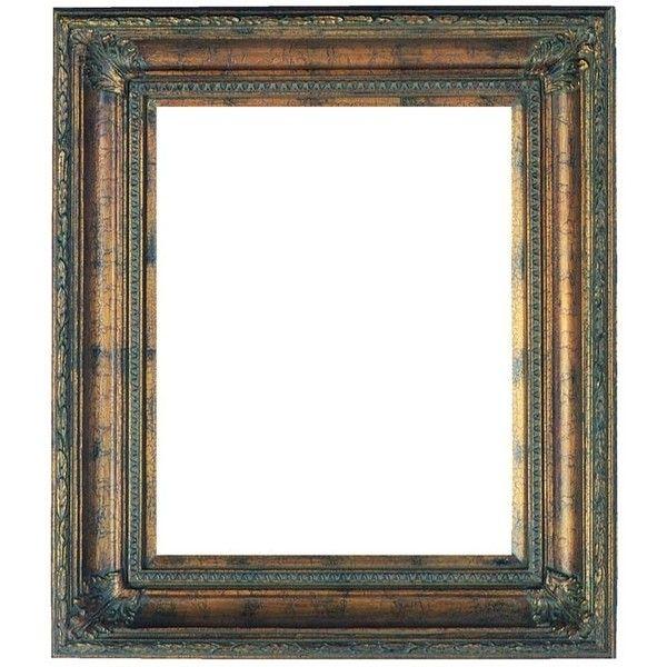 La Bella Scoop Design Antique Crackle Finish Frame (€435) ❤ liked ...
