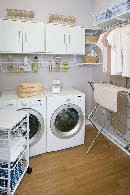 Inspiring Laundry Room Hanging Solutions 4 Total Organizing Rail System For