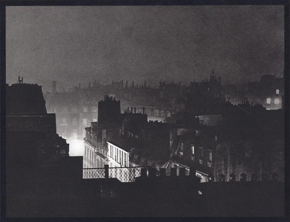 Paris Rooftops, Photograph.