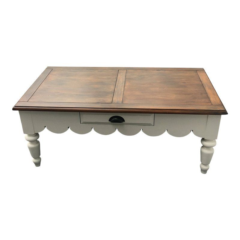 1980s Cottage Broyhill Coffee Table Coffee Table Farmhouse