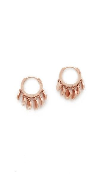 Jacquie Aiche Disco shaker 14kt rose gold single earring klXQVI1gD