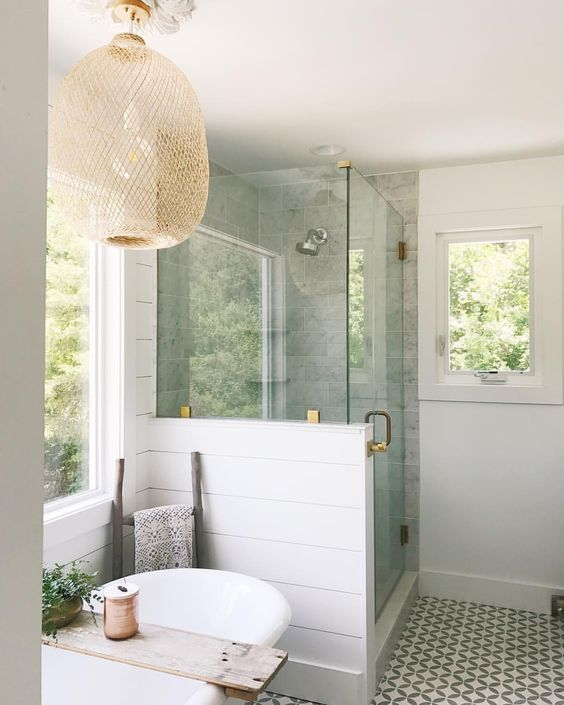 bathroom, bamboo lighting | BATHROOMS | Pinterest | Bamboo light ...