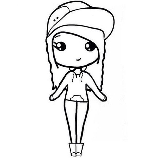 17 Views With Images Cartoon Girl Drawing Chibi Girl Drawings