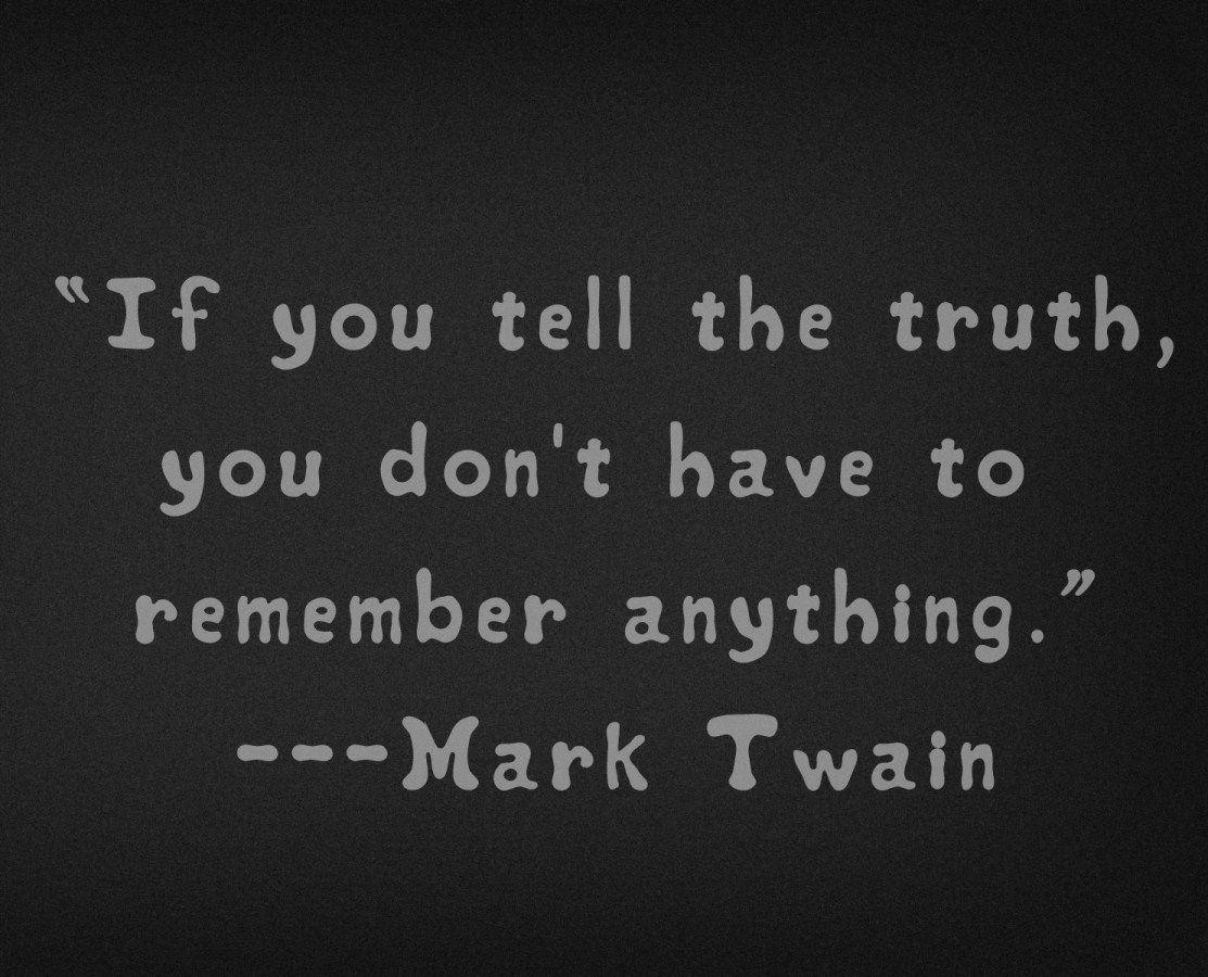 Mark Twain Quotes Google Search Quotables Pinterest Honesty