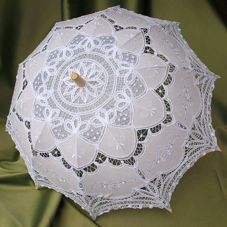 Lace Parasol, Wedding Ceremony