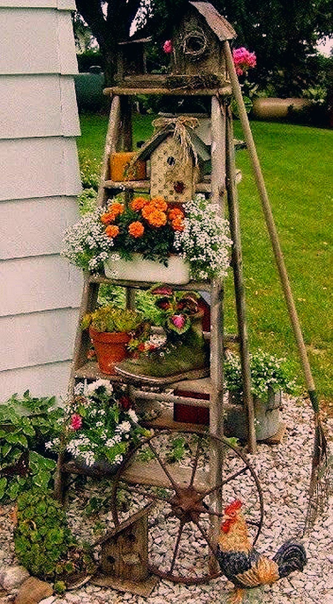 Photo of Beautiful Ladder Garden For Your Best Yard (7) – Onechitecture