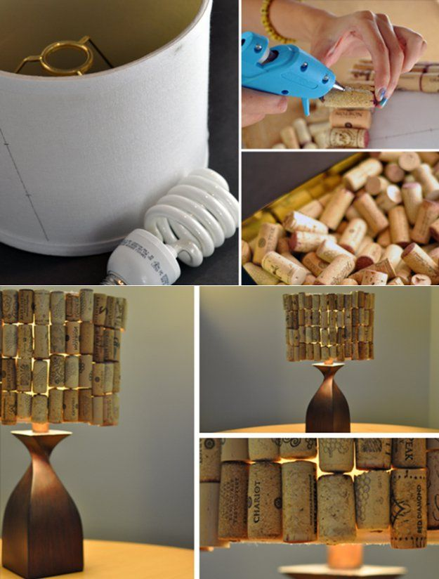 Cool DIY Wine Cork Craft Project | Https://diyprojects.com/more