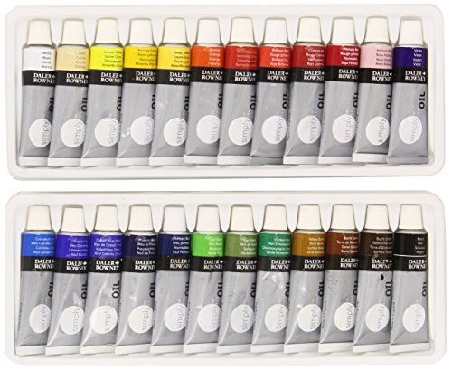 daler rowney simply 24 x 12ml oil set daler rowney https on lowes paint sale today id=46641