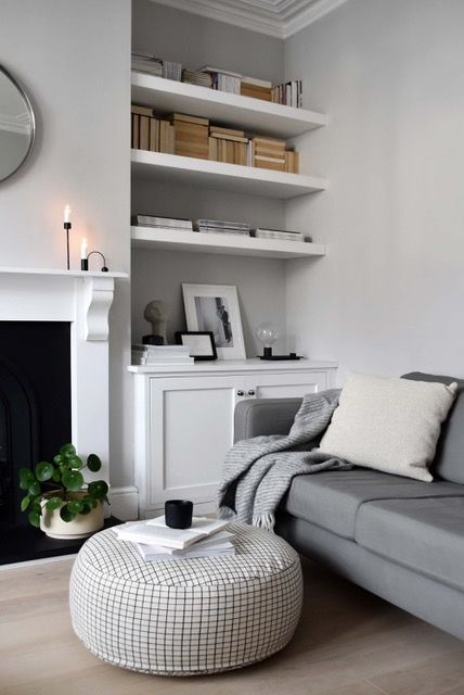 Sit On Me Pouf Round In 2020 Cosy Living Room Living Room Grey Living Room Inspo
