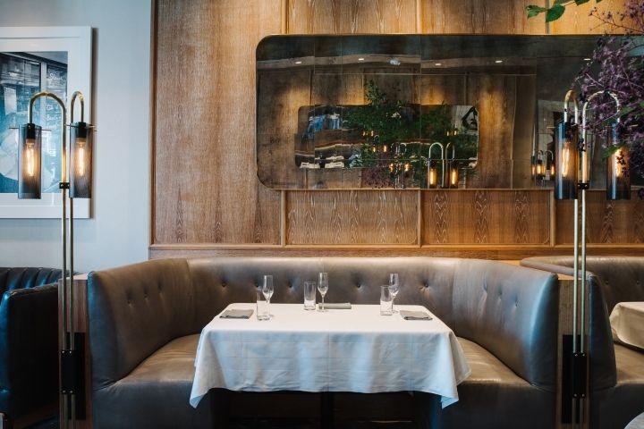 c ellets restaurant by square feet studio atlanta georgia retail design blog - Midcentury Restaurant Interior
