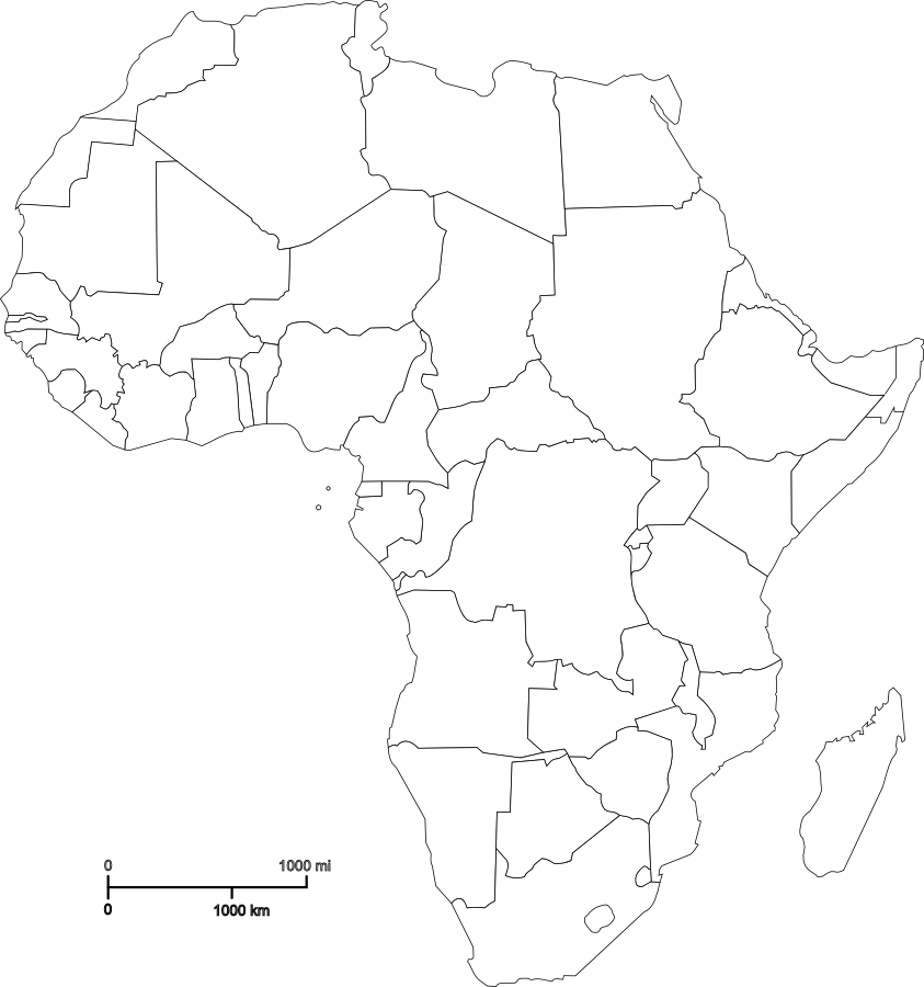 Political map of africa outline map for quizzes school stuff political map of africa outline map for quizzes ccuart Gallery
