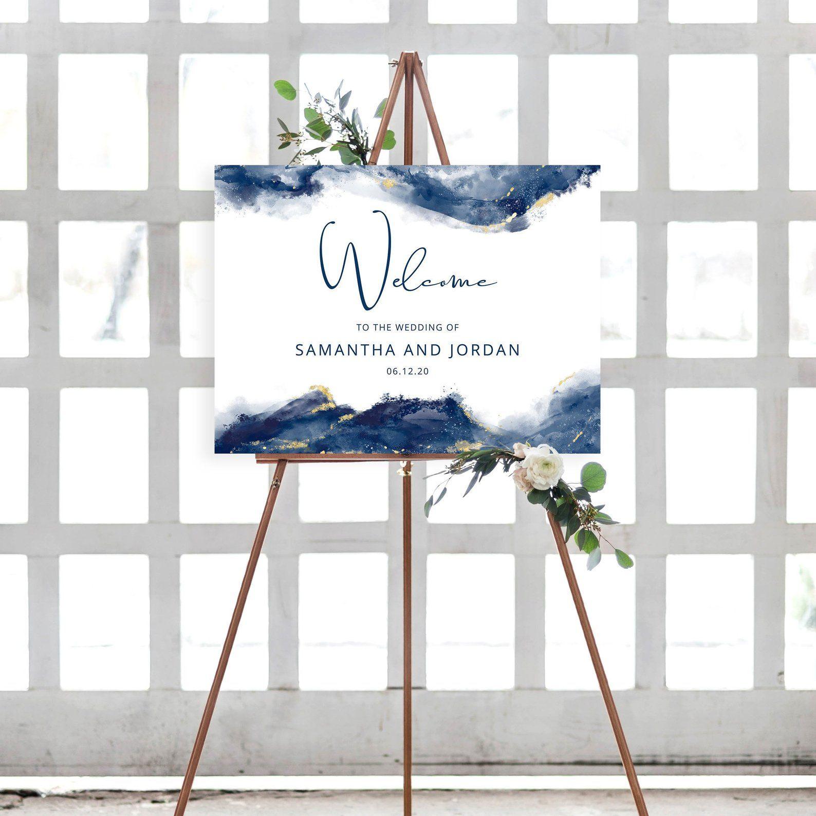 Navy and Gold Wedding Printables  SELFIE STATION Sign  Chic Wedding Signs Script Wedding D\u00e9cor Wedding Downloads SCNG5