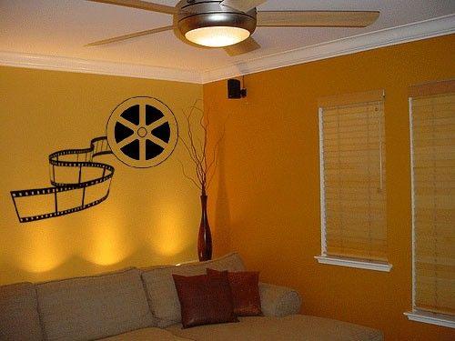 Cinema Theatre Customized Home Theater Vinyl Wall Decor