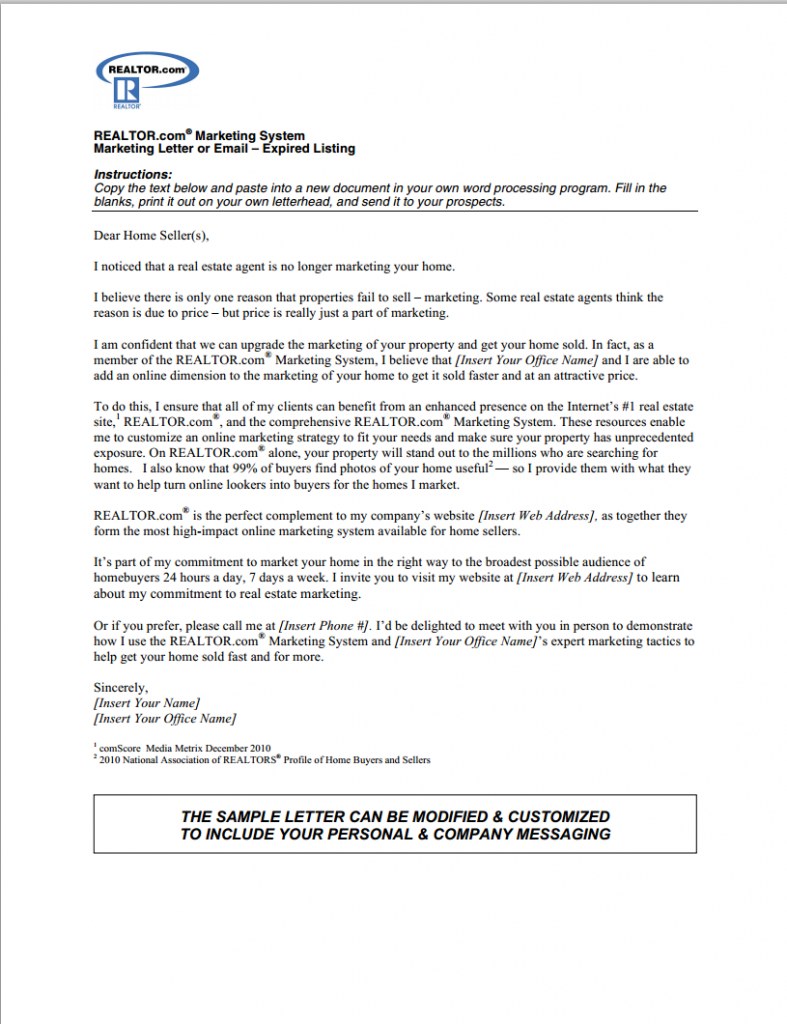 cover letter for optical assistant - the best expired listing letter s for 2014 real