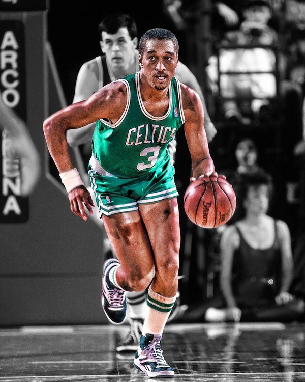 Dennis Johnson With The @Boston Celtics