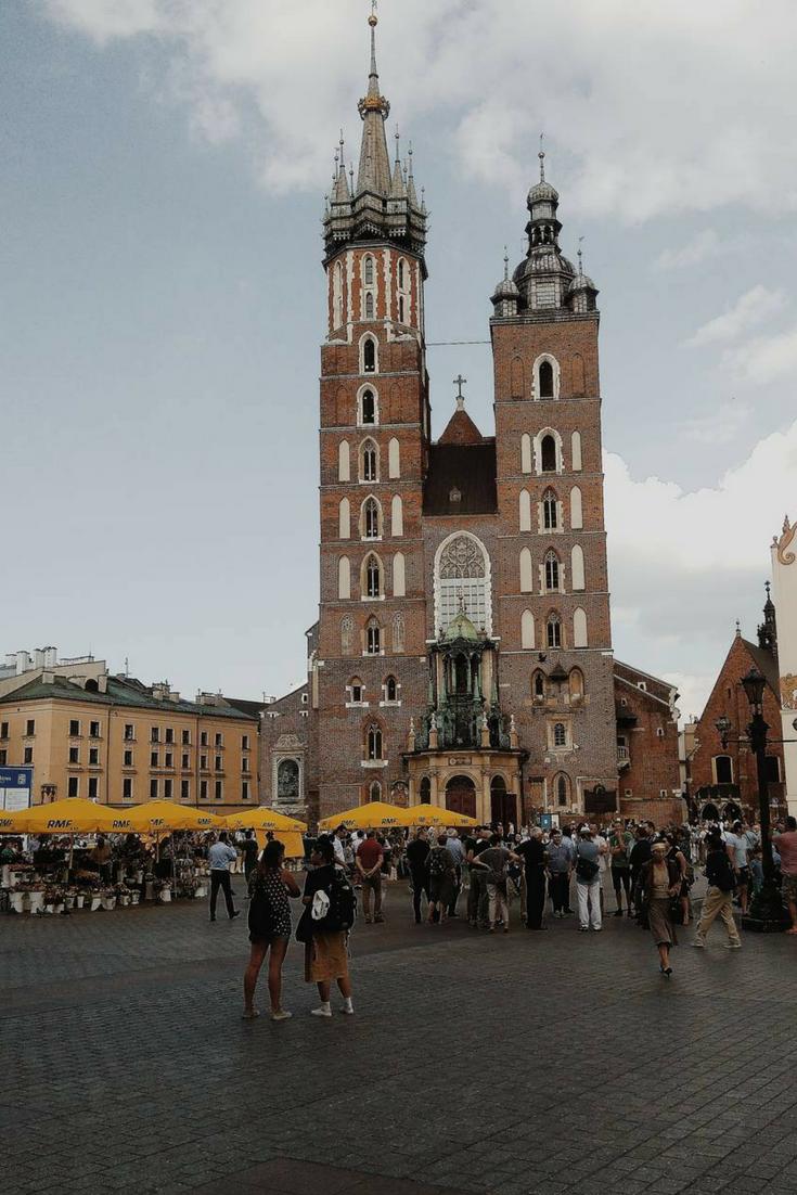 Kościół Mariacki W Krakowie Mariacki Kościół Kraków
