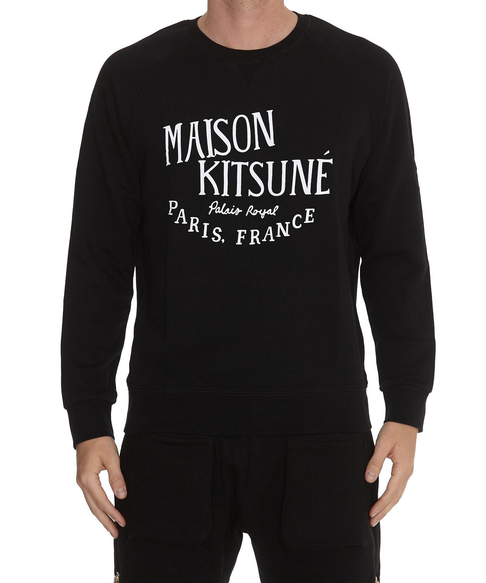 Maison Kitsune Palais Royal Sweatshirt Maisonkitsune Cloth [ 1920 x 1600 Pixel ]