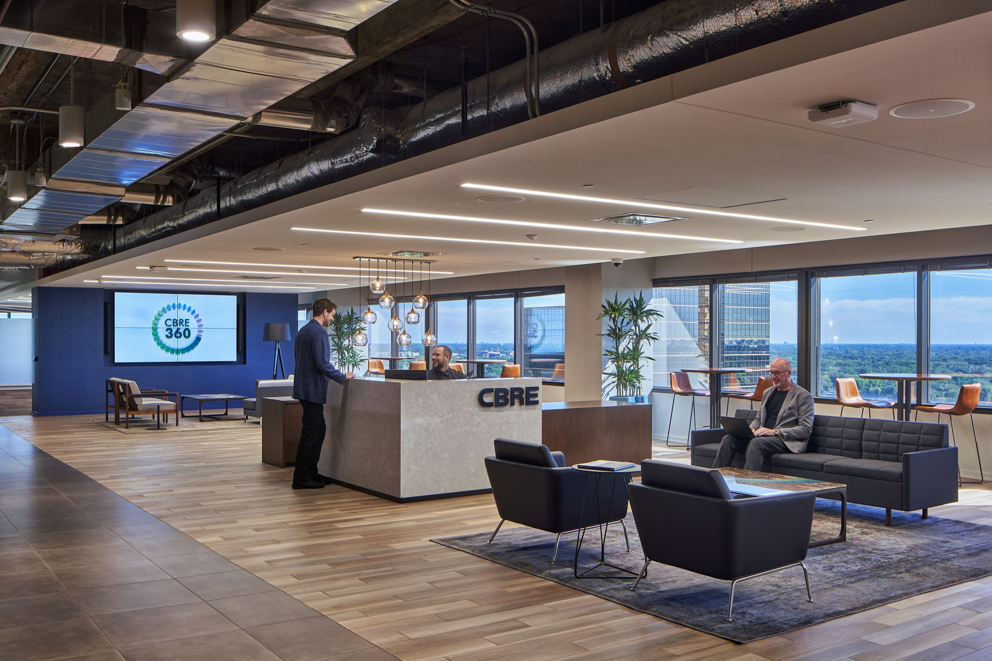 Office Tour Cbre Offices Southfield In 2020 Office Design