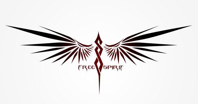Graphic Design Wettbewerbsbeitrag 72 Fr Free Spirit Tattoo Design