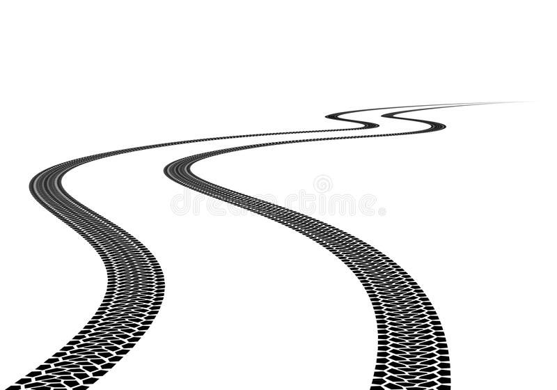 Tire Track Road Tire Track Illustration On White Background Affiliate Road Track Tire Background Tire Tracks Illustration Logo Design Inspiration