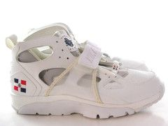 sale retailer c4ec7 ea2e4 Nike Trainer Huarache Dominican Repubic DR White Blue Gray Men Shoes - See  more