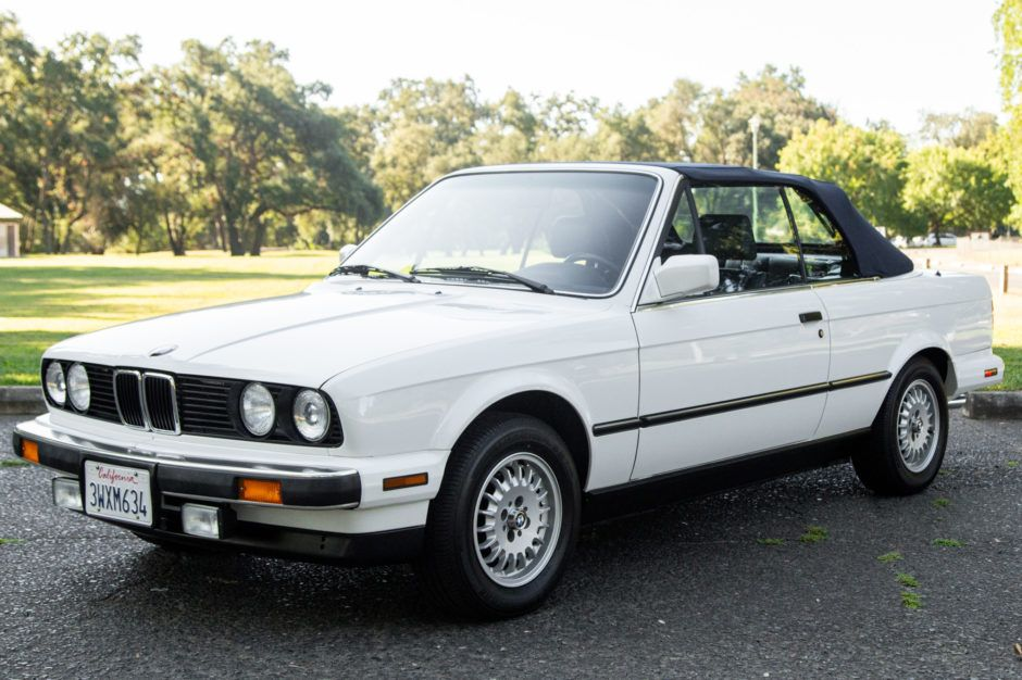 29k Mile 1989 Bmw 325i Convertible Bmw Alpine White Car Ads